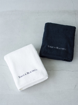 Luxury Bath Towel 詳細画像 black
