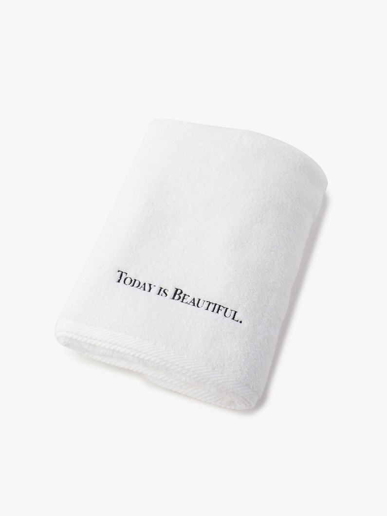 Luxury Bath Towel 詳細画像 white 1