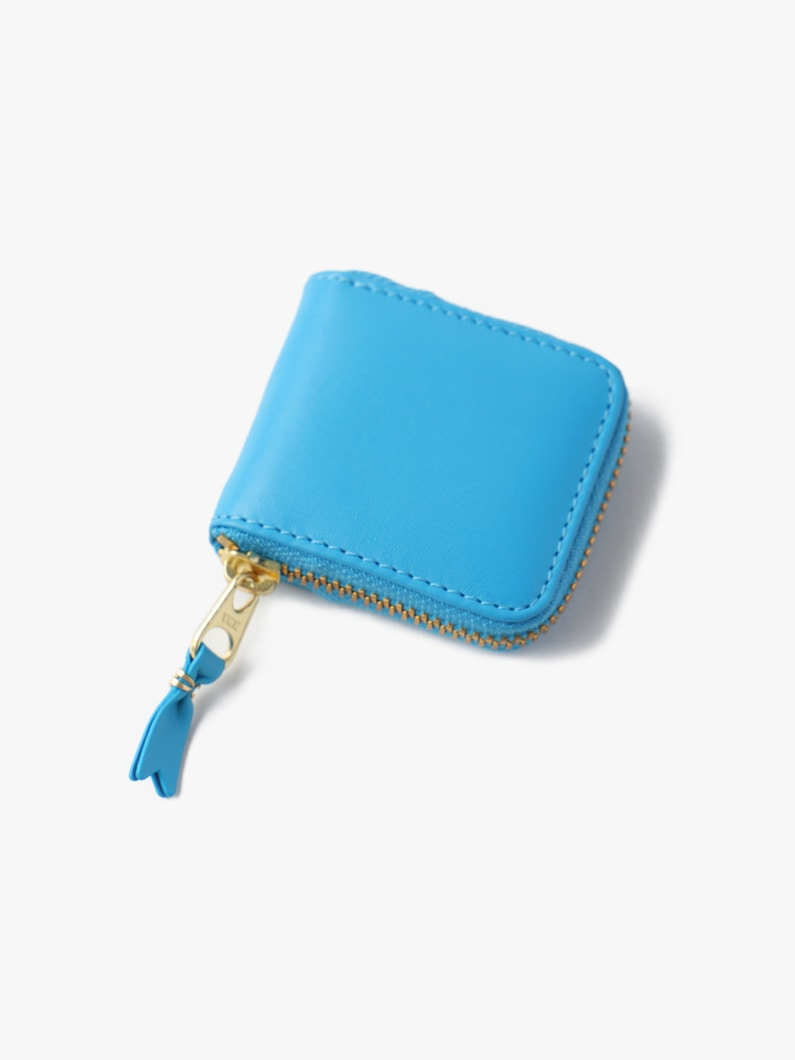 Classic Laether Line D Coin Case 詳細画像 blue 3