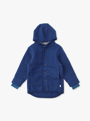 Boiled Wool Jacket 詳細画像 navy