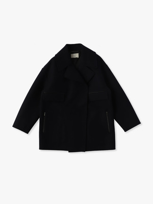 Heavy Melton Coat 詳細画像 navy