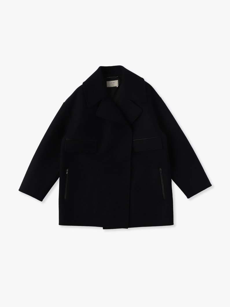 Heavy Melton Coat 詳細画像 navy 1