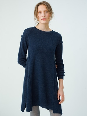 Deconstructed Ribs Dress 詳細画像 blue