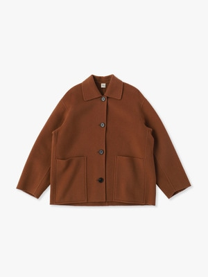 Stand Fall Collar Jacket 詳細画像 brown