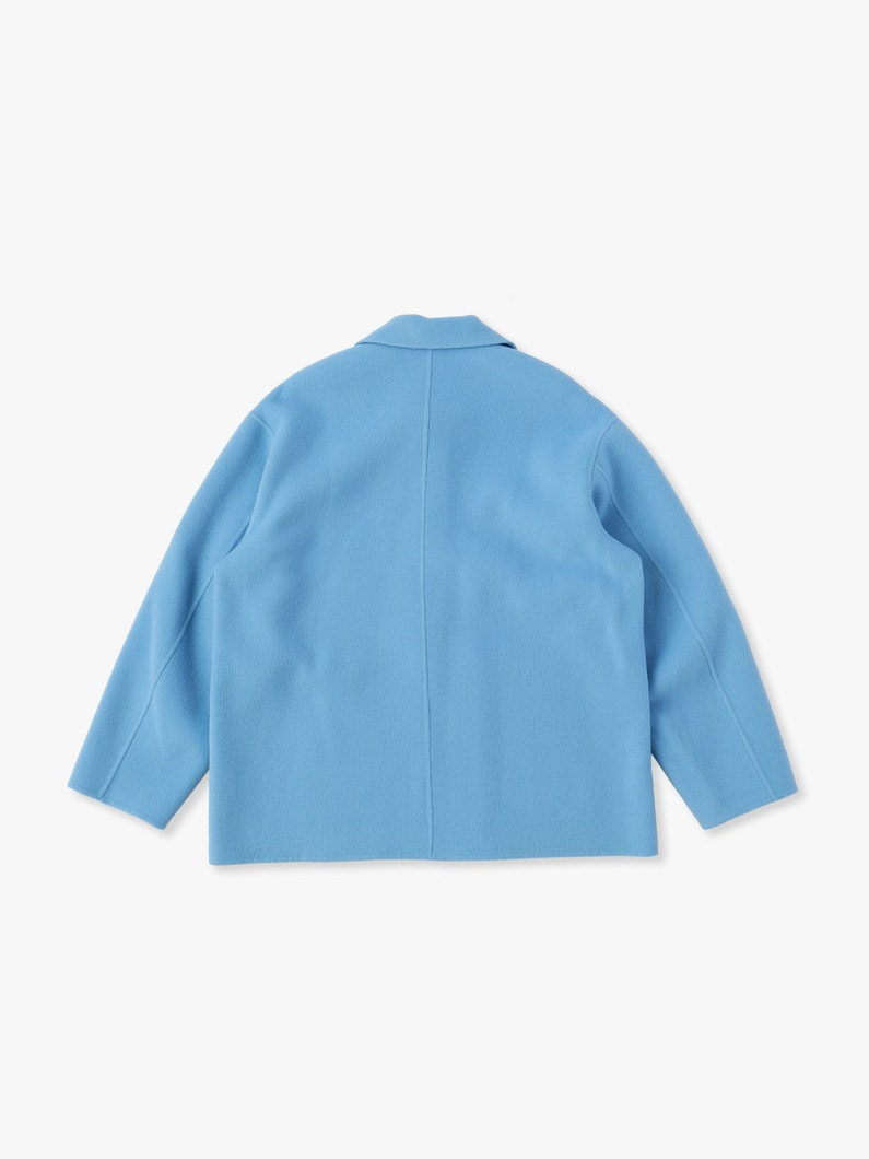 Stand Fall Collar Jacket 詳細画像 light blue 4