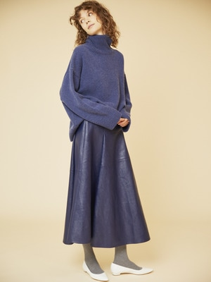 Low Gauge Cashmere Knit 詳細画像 indigo