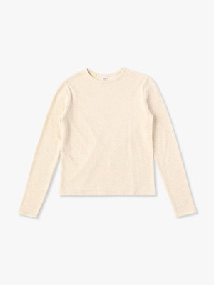 Cotton Yak Soft Pullover 詳細画像 ivory