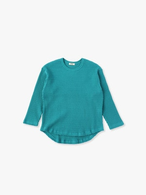 Big Waffle Pullover 詳細画像 green
