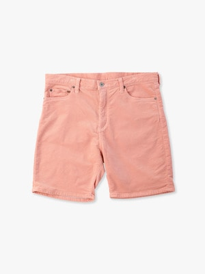 Fake Cords Short Pants 詳細画像 coral