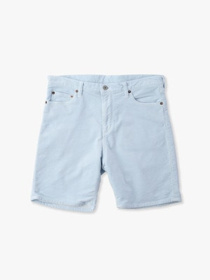 Fake Cords Short Pants 詳細画像 blue