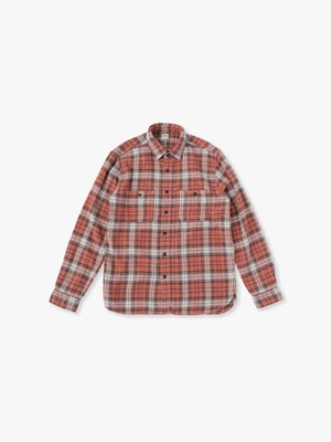 Fade Check Shirts 詳細画像 red