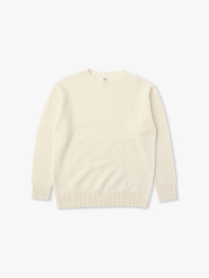 Wool Basic Sweater 詳細画像 white