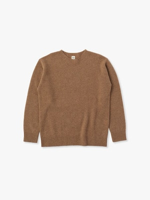 Wool Basic Sweater 詳細画像 beige