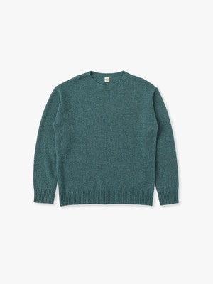 Wool Basic Sweater 詳細画像 green