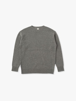 Wool Basic Sweater 詳細画像 gray