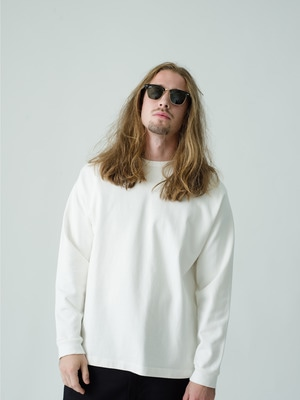 Germent Dye Long Sleeve Tee 詳細画像 white