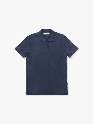 Jarrett Washed Polo Shirt 詳細画像 navy