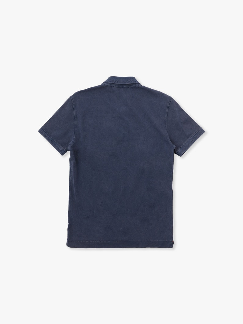 Jarrett Washed Polo Shirt 詳細画像 navy 2
