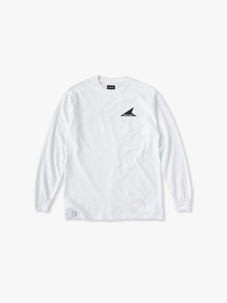 Cetus Long Sleeve Tee 詳細画像 white 1