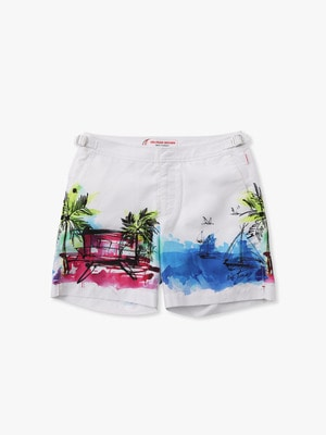 Bulldog Swim Shorts  Nick Turner 詳細画像 white