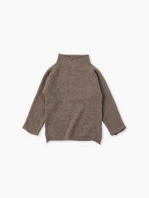Funnel High Neck Sweater 詳細画像 brown