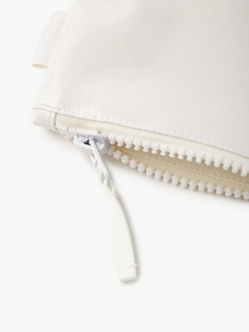 Rip Stop Zip Pouch (Small) 詳細画像 off white 3