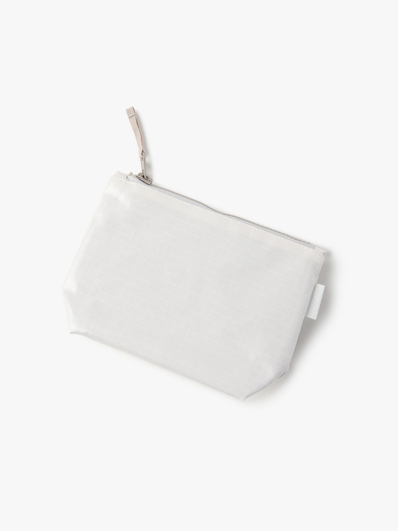 Rip Stop Zip Pouch (Small) 詳細画像 gray 1