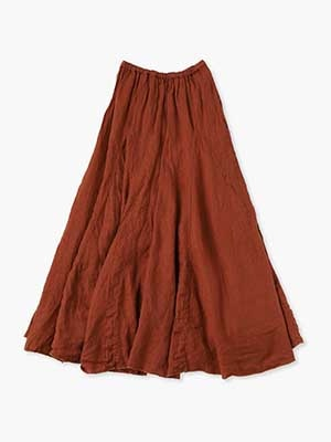 Lily Skirt 詳細画像 brown