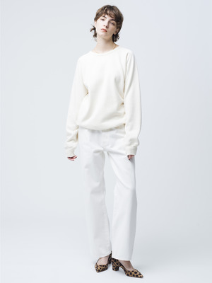 Vintage Straight Denim Pants(white) 詳細画像 white