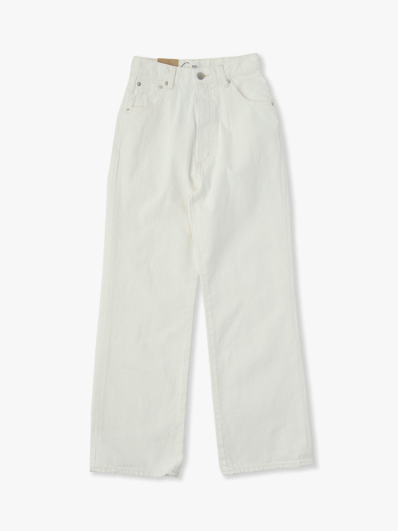 Vintage Straight Denim Pants(white) 詳細画像 white 3