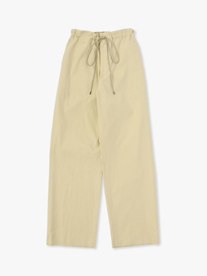 Washed Finx Twill Easy Wide Pants 詳細画像 light yellow