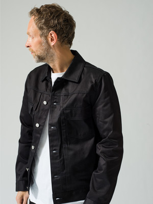Veste Jean Work Denim Jacket 詳細画像 black