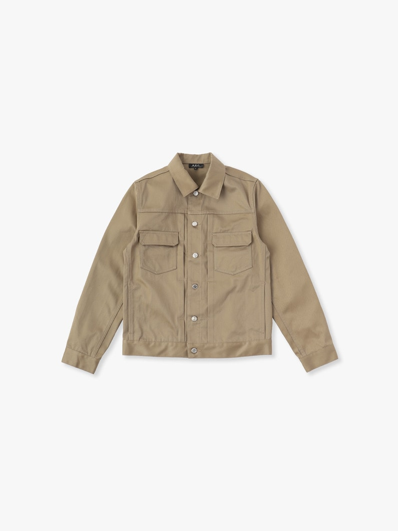 Veste Jean Work Denim Jacket 詳細画像 beige 1