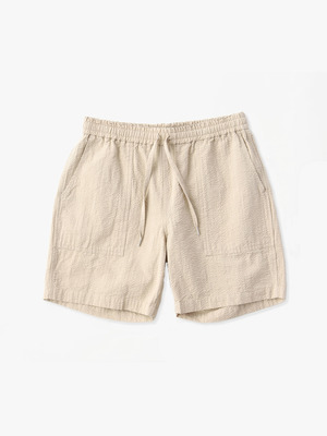 Seersucker Short Pants 詳細画像 beige