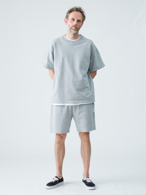 Relaxed Sweat Shorts 詳細画像 gray