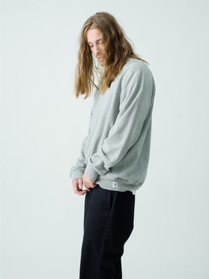 Relaxed Crew Neck(Midweight Terry) 詳細画像 gray
