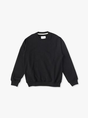 Relaxed Crew Neck(Midweight Terry) 詳細画像 black