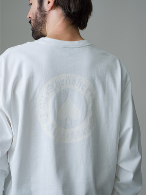 Thrasher Long Sleeve Tee 詳細画像 white