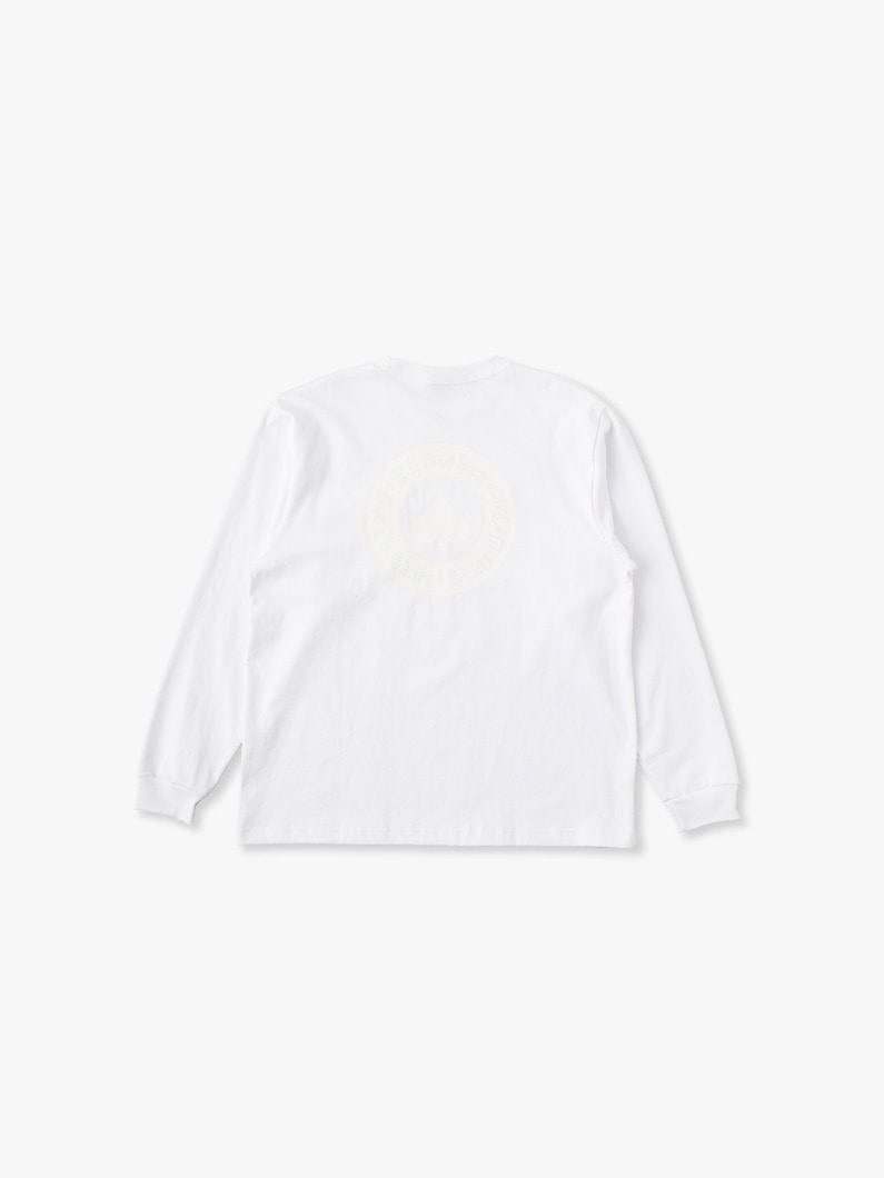 Thrasher Long Sleeve Tee 詳細画像 white 3