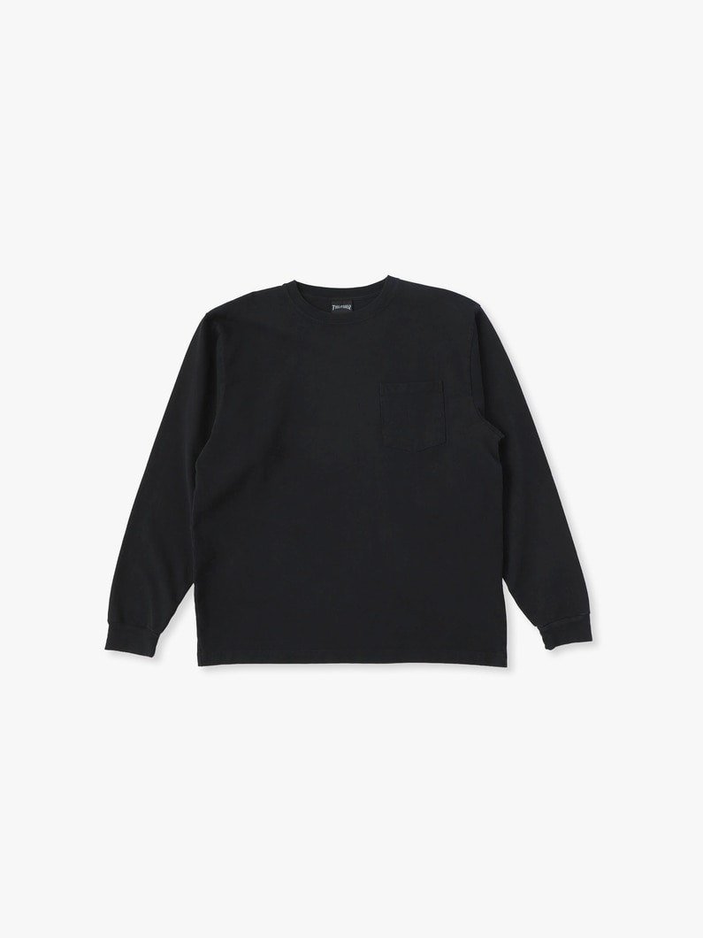 Thrasher Long Sleeve Tee 詳細画像 black 1