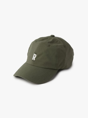 Stretch R Logo Cap 詳細画像 khaki