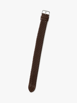 Braided Calf Strap 詳細画像 brown