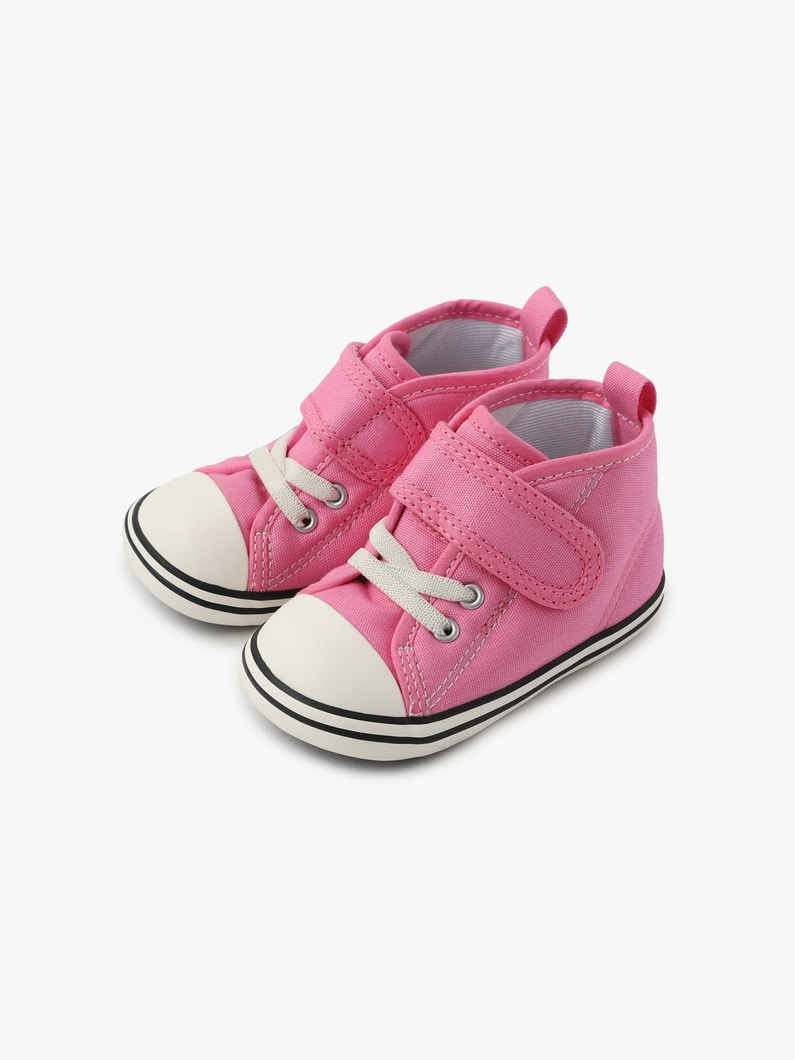Baby All Star N PP Colors V-1 Sneaker 詳細画像 pink 3