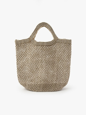 Jute Macrame Bag (Large) 詳細画像 off white