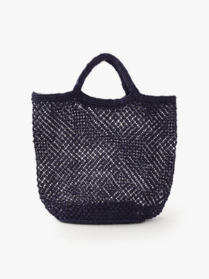Jute Macrame Bag (Large) 詳細画像 purple
