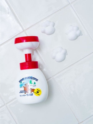 Form Hand Soap (Paws Motif Bubble) 詳細画像 other