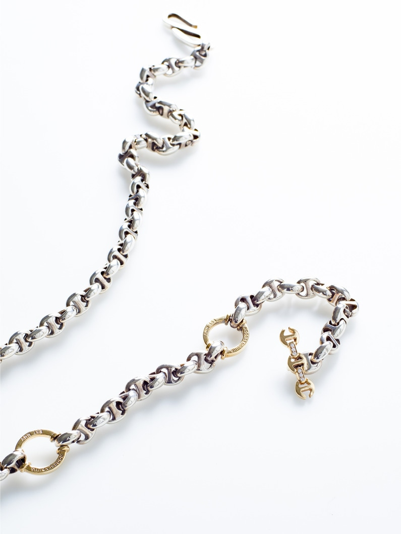 10㎜ Open-Link Wallet Chain 詳細画像 yellow gold 1