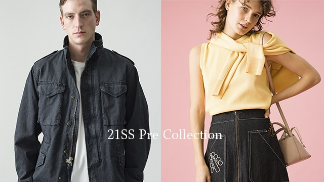 Ron Herman Women & Men 2021SS Pre Collection 1.16(sat) New Arrival